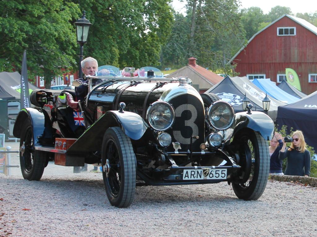Bentley 3l 1927 Sportvagnstraffen