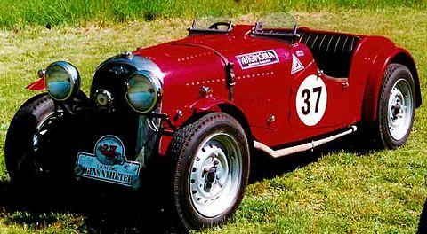 Sportvagnsträffen Morgan 4/4 1938